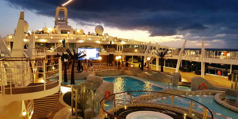 MSC Splendida Pooldeck