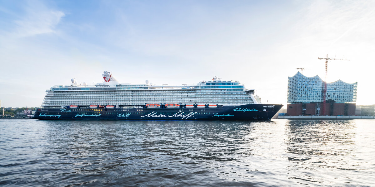 TUI Cruises mit Sitz in Hamburg