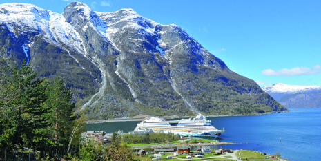 AIDAluna in Norwegen